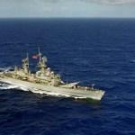 USS Wainwright (CG 28), a guided missile cruiser