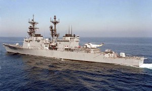 Destroyer USS Merrill (DD-976)