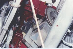 Engineroom damage