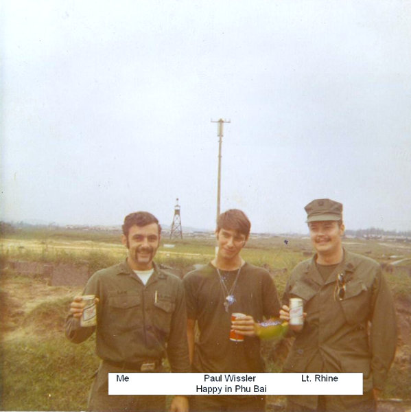 Nsg Detachment Phu Bai Vietnam Circa 1971 1972 From
