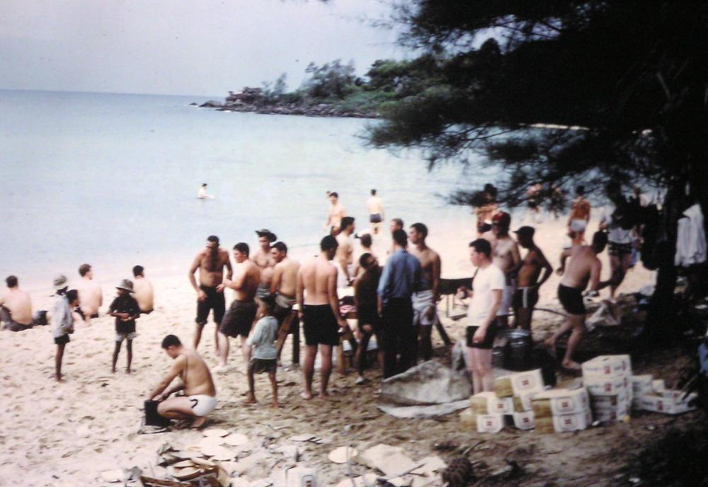 Uss Jamestown Agtr 3 1967 1968 An Thoi Vietnam From David Dembowski Cttc Usn Ret