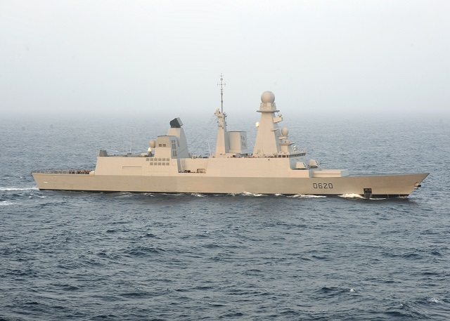 "French Navy's Horizon-class AAW Destroyer Forbin (classified as ""Frigate"" in the French Navy) succesfully test-fired an MM40 Blk II anti-ship missile, the French Navy (Marine Nationale) announced. The test took place on May 9th in the Mediterranean Sea."