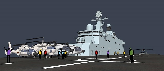 Type 075 LHD PLAN China 03
