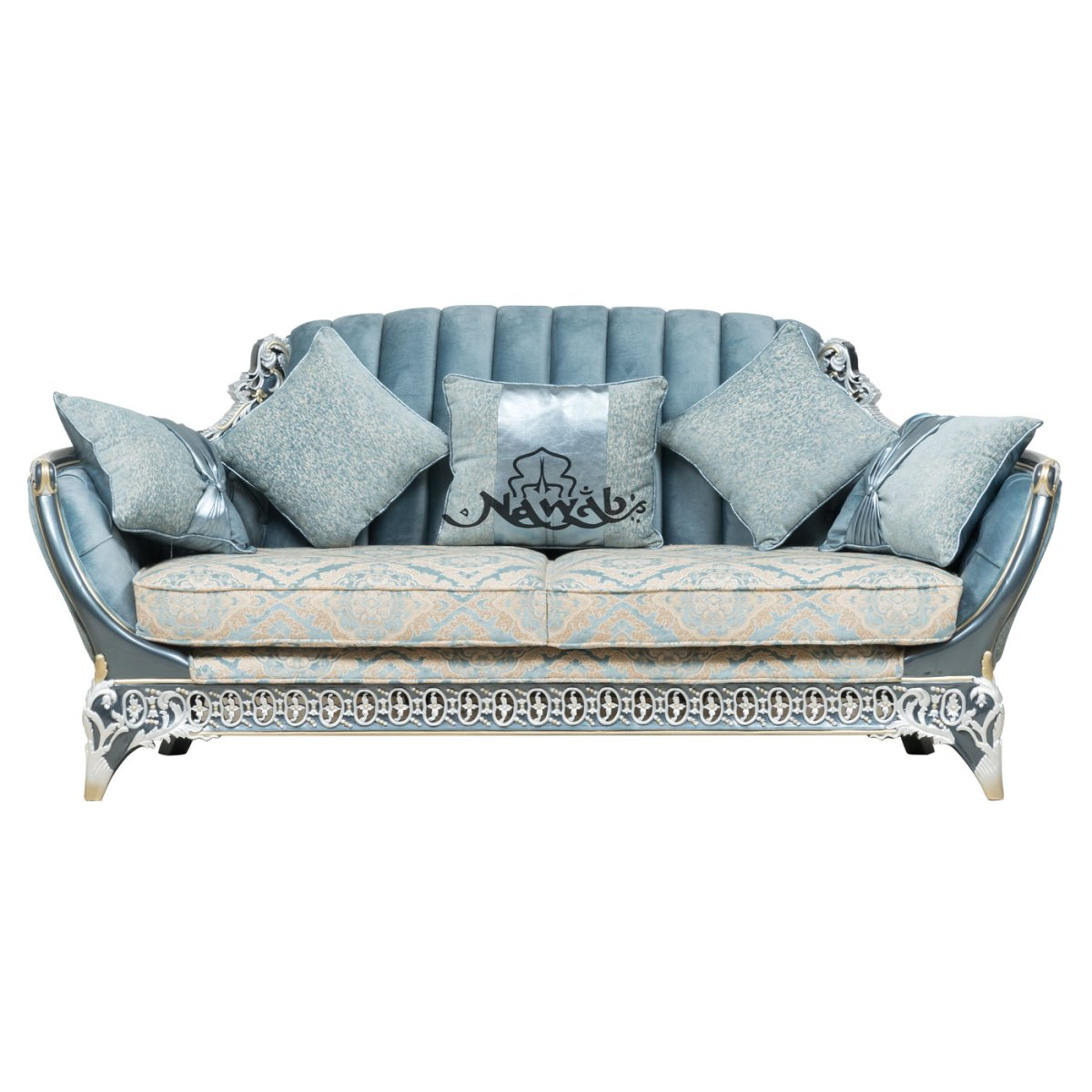 3-seater-teakwood-hand-carved-sofa-blue-white-pearl-polish-with-golden-lining-high-end-suede-upholstery-table-blue-onyx-top