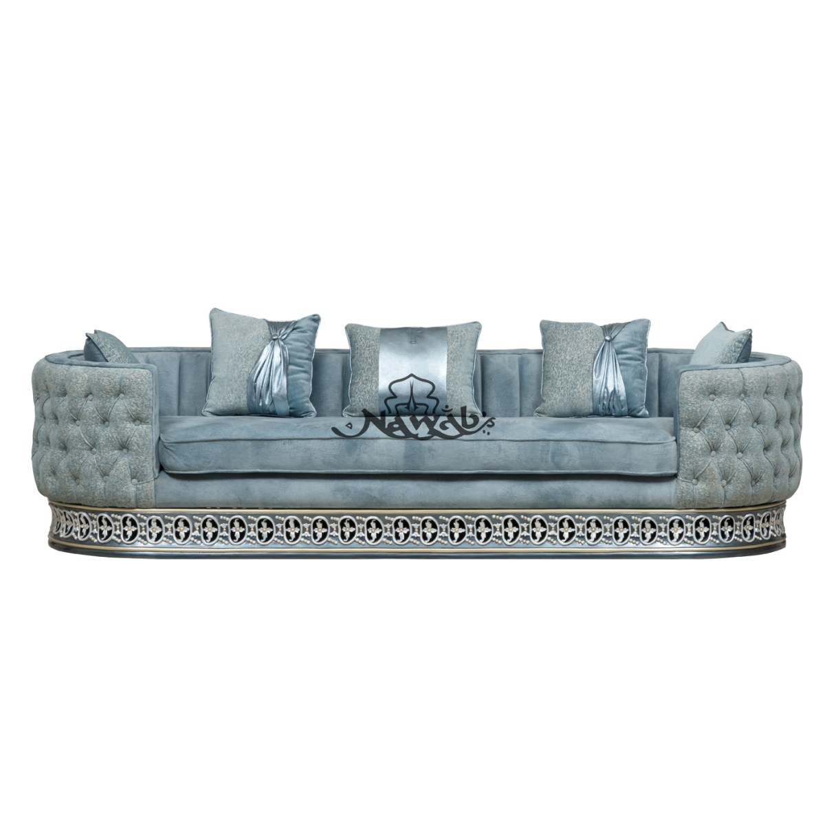 4-seater-teakwood-hand-carved-sofa-blue-white-pearl-polish-with-golden-lining-high-end-suede-upholstery-table-blue-onyx-top