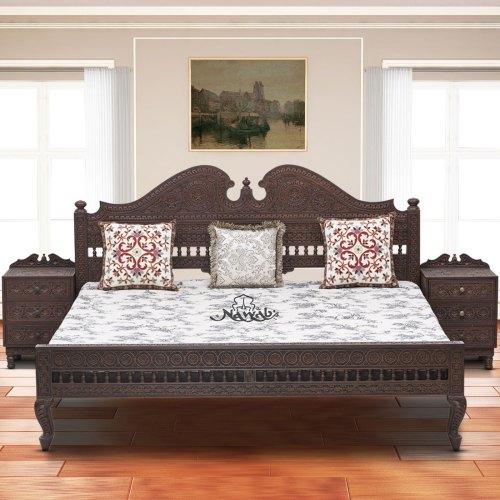 solid-teak-wood-with-carving-all-3-side-carving-walnut-melamine-polish-background