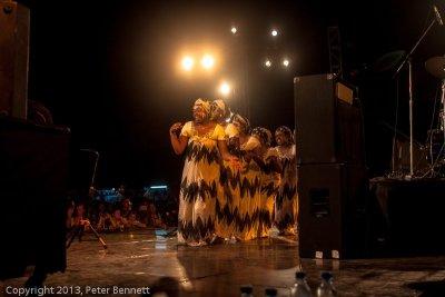 at Sauti za Busara 2013 (photo: Peter Bennett)