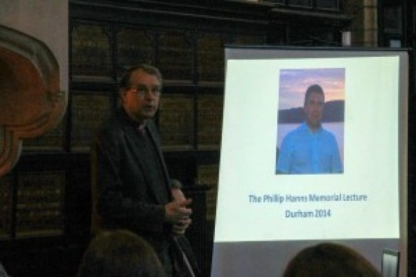 Bishop of Durham - Phil Hanns memorial lecture 12 12 2014