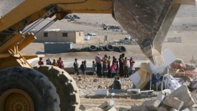 الاحتلال الاسرائيلي يهدم مساكن قرية العراقيب غير المعترف بها إسرائيليًا في النقب المحتل