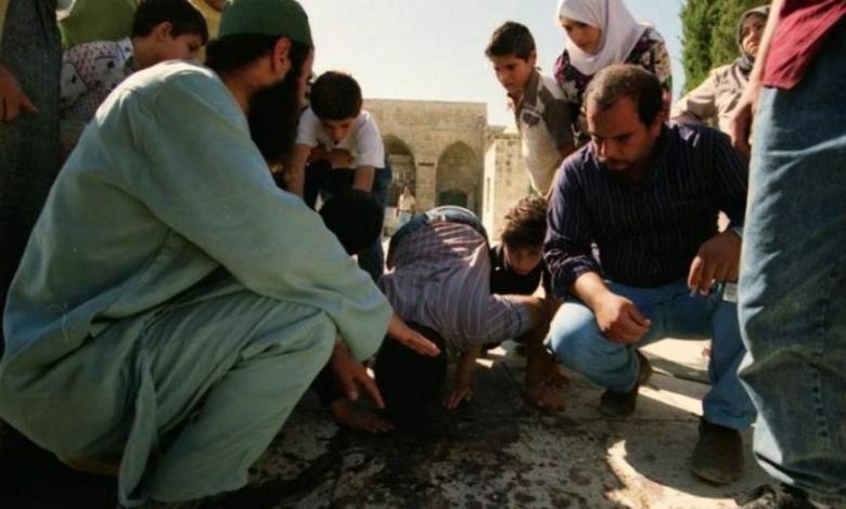 مجزرة الأقصى التي ارتكبها الاحتلال في 8-10-1990