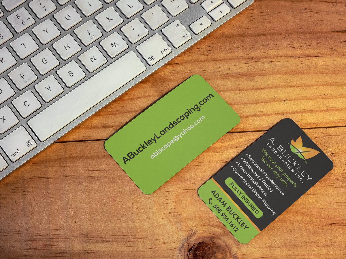 A. Buckley Landscape // Business Cards