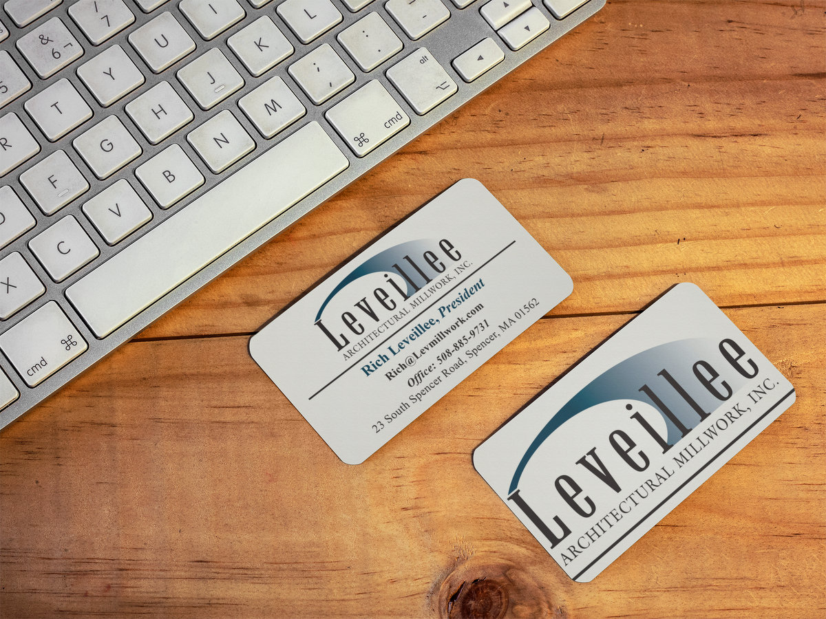 Leveillee Architectural Millwork, Inc. // Business Cards
