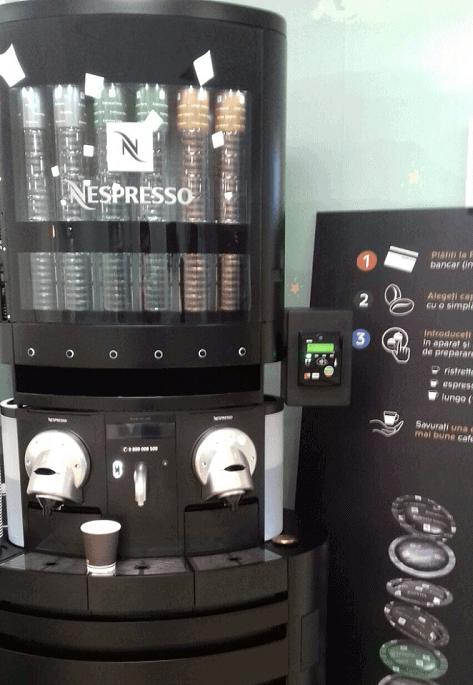 Nayax's VPOS can improve office coffee machines