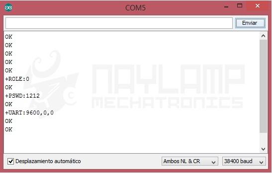 Configuracion HC-05 como Maestro