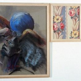 Philosophy, Upholstery, Catastrophe, 1982-1984, mixed media