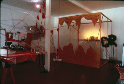 Installation At New Langton Arts, San Francisco 1985