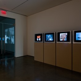 The The Hessell Collection Collection 2009, Four discs of digital files. Installed at the Center for Curatorial Studies, Bard College