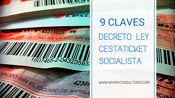 Ley Cestaticket Socialista
