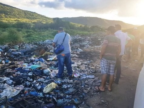 Resultado de imagem para Dois homens são encontrados queimados em lixão de Tabira