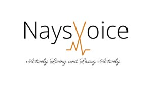 title image of nays voice actively living and living actively