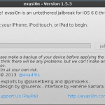 Jailbreak iOS 6.x Untethered con GNU/Linux