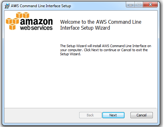 Setup and configure AWS Command Line Interface in Windows | aws
