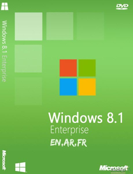 Windows 8.1 Enterprise En,Ar,Fr August 2014