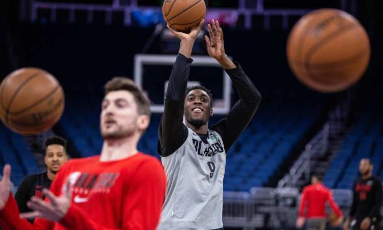 Trail Blazers face the Orlando Magic on March 2, 2019. Bruce Ely / Trail Blazers
