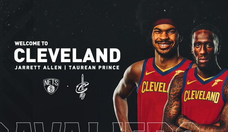 Cavaliers Acquire Jarrett Allen and Taurean Prince from Brooklyn as Part of  Three-Team Trade | Cleveland Cavaliers