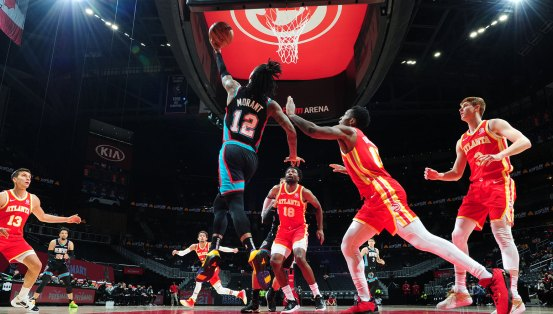 Post-match report: Grizzlies knock out Hawks 131-113, win fourth consecutive