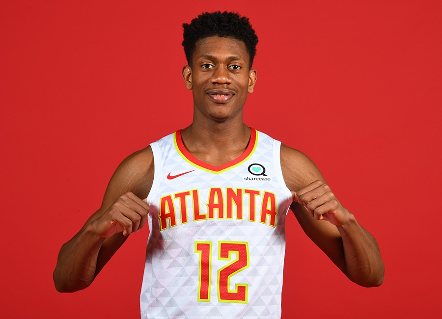De'Andre Hunter: Rookie Photo Shoot | Atlanta Hawks
