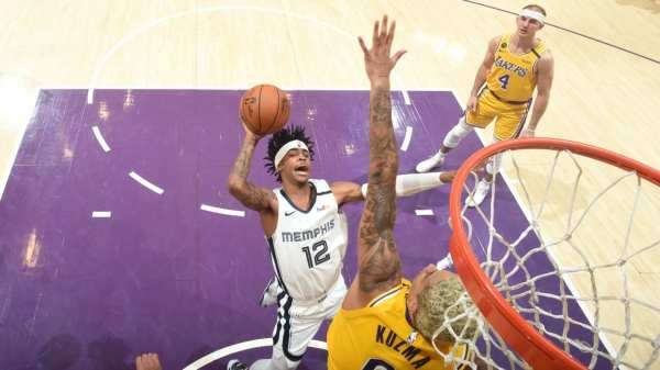 The Memphis Grizzlies fell to the Los Angeles Lakers 117-105 inside Staples Center on Friday night   Memphis Grizzlies
