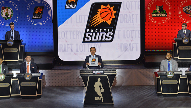 Image result for phoenix suns draft lottery