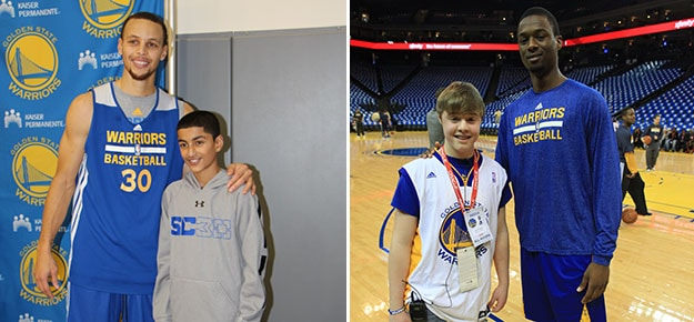 Warriors Host Wish Week For Make A Wish Youth Golden State Warriors