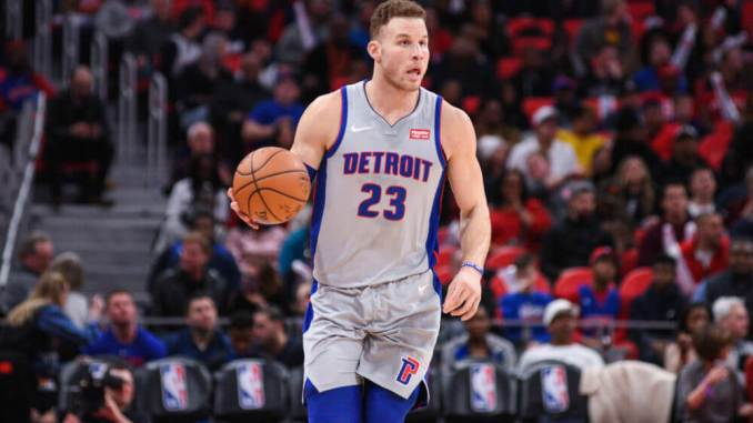 Blake Griffin, Brooklyn Nets, Detroit Pistons, Bucks, Giannis Antetokounmpo, Timberwolves, Warriors, Nuggets, Derrick Rose, Thunder, Clippers