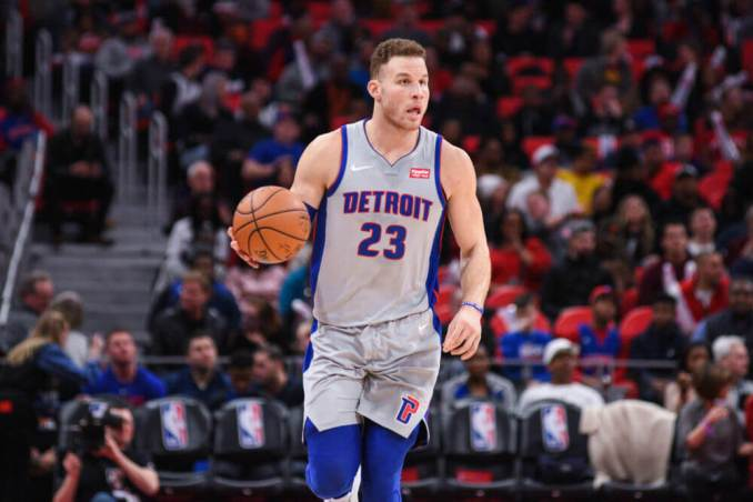 Blake Griffin, Detroit Pistons, NBA