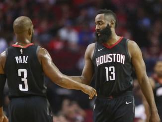 Chris Paul, Houston Rockets, James Harden, NBA
