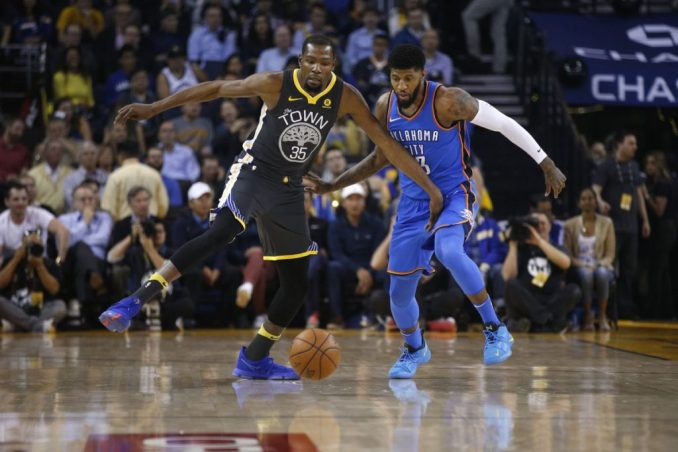 Paul George, Oklahoma City Thunder, Kevin Durant, Golden State Warriors