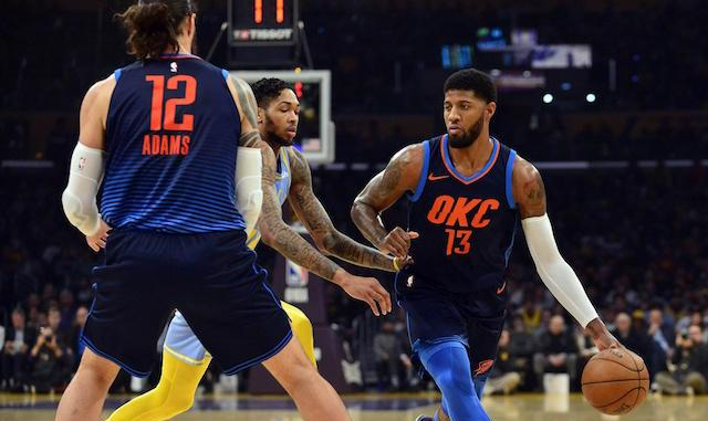 oklahoma city thunder 3 goals for paul george in 2018 19