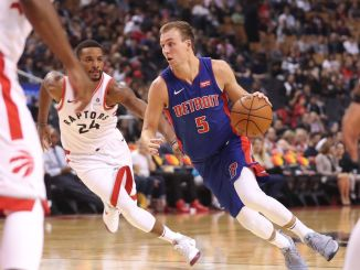 Luke Kennard, Detroit Pistons, Norman Powell, Toronto Raptors,