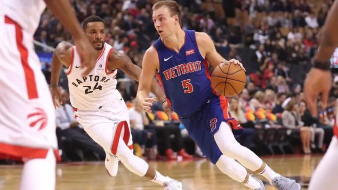 Luke Kennard, Detroit Pistons, Norman Powell, Toronto Raptors,