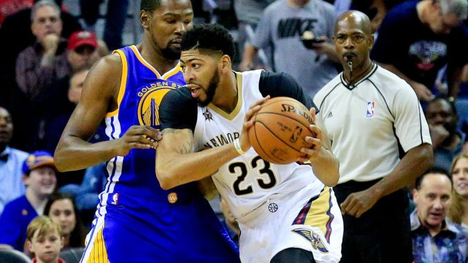 Anthony Davis, New Orleans Pelicans, Kevin Durant, Golden State Warriors