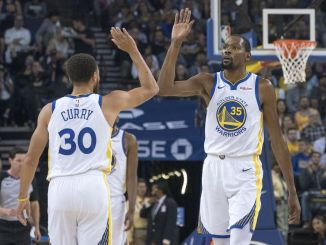 Stephen Curry, Kevin Durant, Golden State Warriors