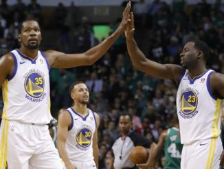 Kevin Durant, Draymond Green, Golden State Warriors, NBA