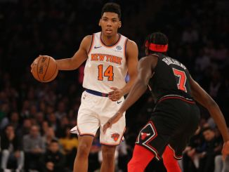 Allonzo Trier, New York Knicks, Justin Holiday, Chicago Bulls