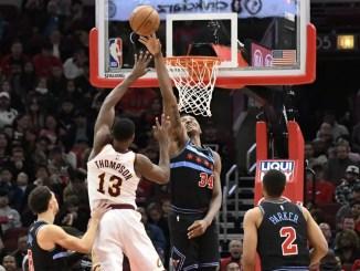 Tristan Thompson, Cleveland Cavaliers, Wendell Carter Jr., Chicago Bulls, NBA