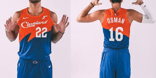 4fd5961da14 This uniform is cool and I wish LeBron James could have gotten the chance  to wear it. Orange and blue are great colors and the font is unique.