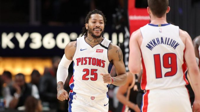 Derrick Rose, Detroit Pistons, Miami Heat, NBA Trade Rumors, Ben Simmons, Joel Embiid, Los Angeles Lakers