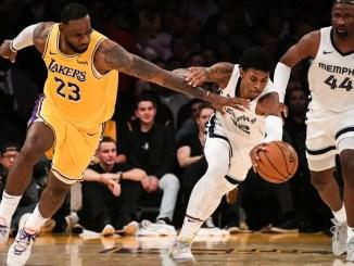 LeBron James, Ja Morant, Grizzlies, Lakers