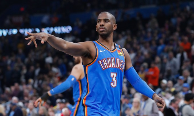 Chris Paul, Thunder, Knicks